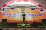 Sekda Banten Muhadi, ketika membuka acara hari keluarga nasional tingkat provinsi Banten yang ke XX, yang dilangsungkan di Kota Serang, Selasa (08/10).